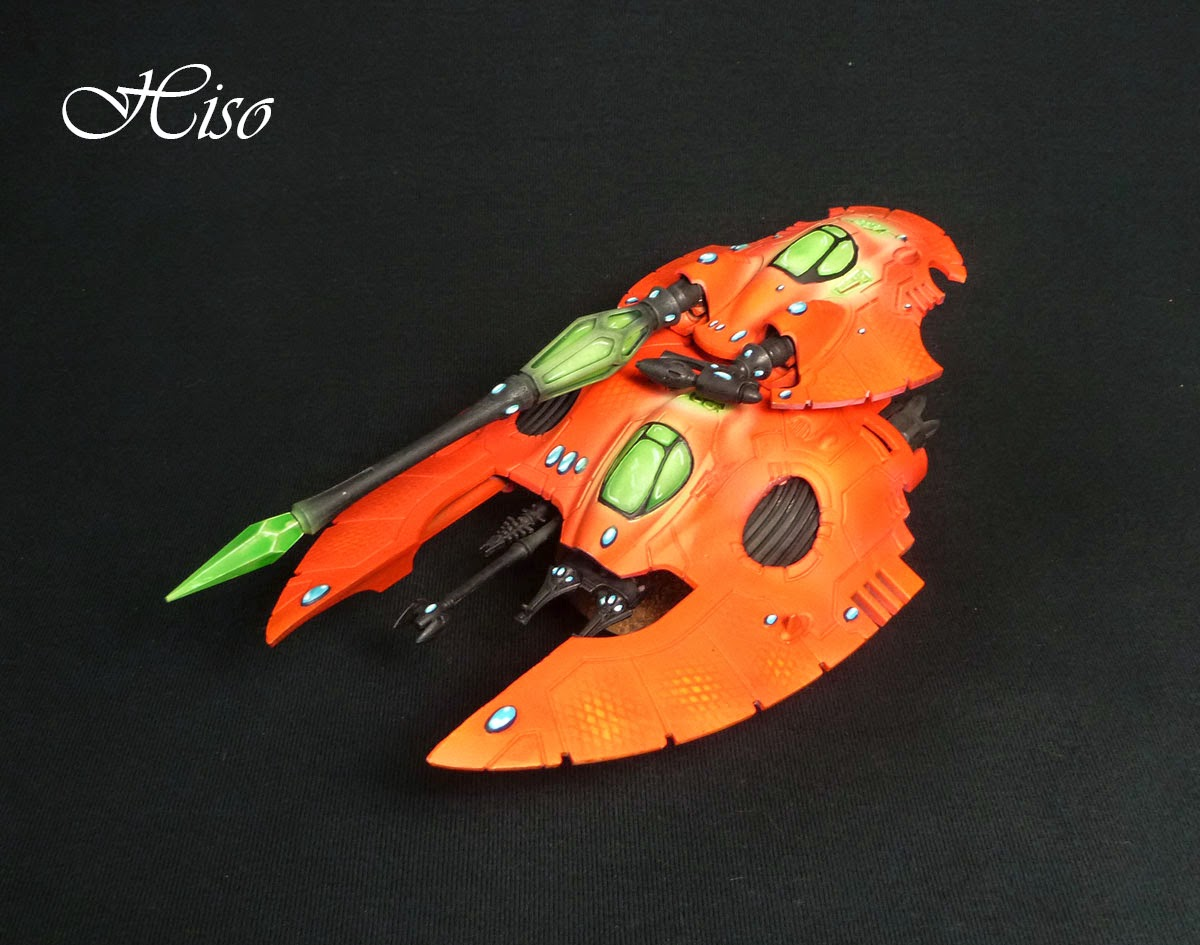 Fire Prisme Eldar Orange