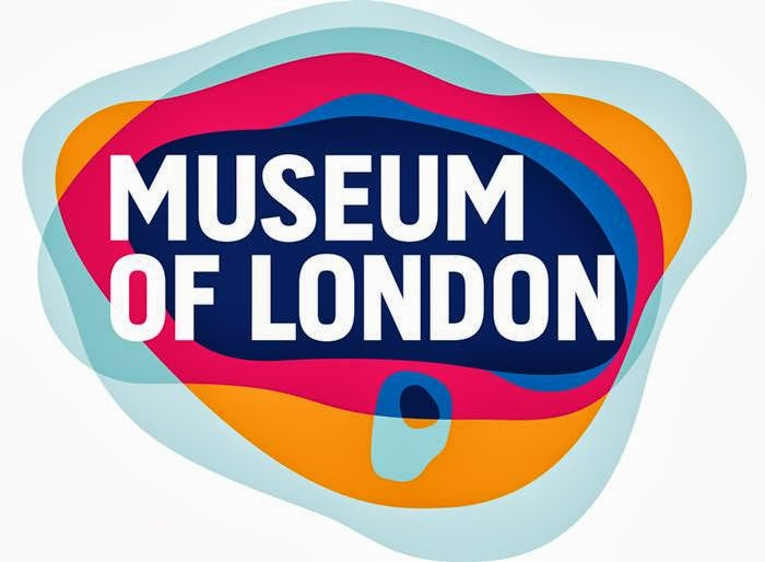 The Museum of London logo may look like a modern logo design but it actually represents the geographic area of london as it as grew over time.