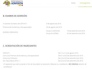 Resultados ingresantes Universidad de Trujillo UNT 2016 I Areas A 19 de setiembre