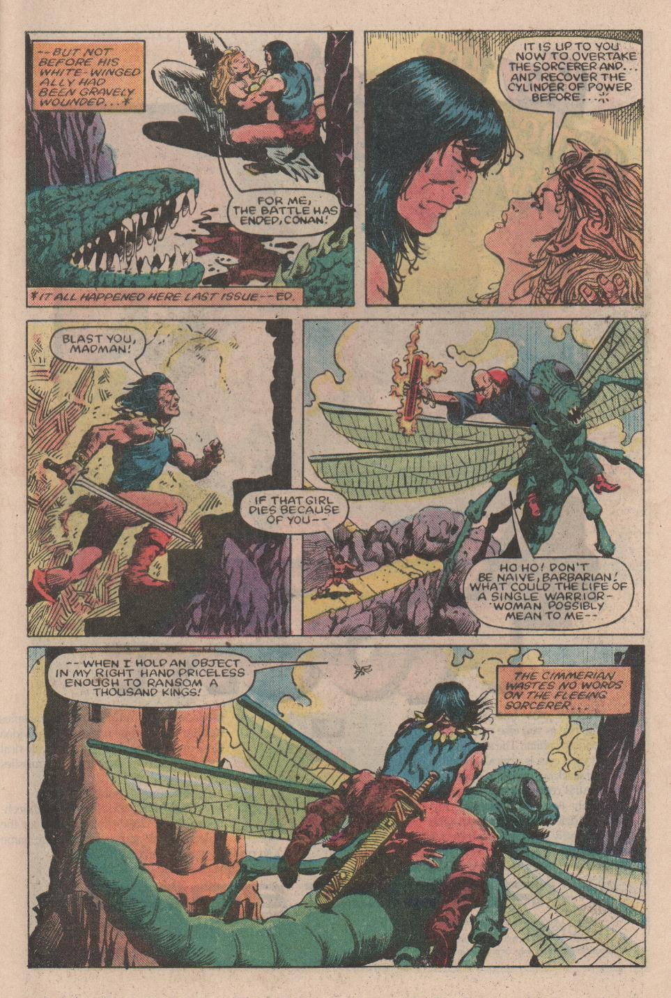 Conan the Barbarian (1970) Issue #154 #166 - English 4