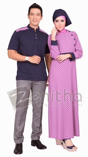 16 Contoh Model Baju Muslim Zenitha Couple Kumpulan