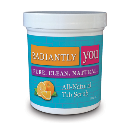 All-Natural Tub Scrub by Radiantly You