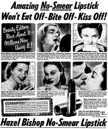 The Uncurated Life: The Invention of Long-Lasting Lipstick ...