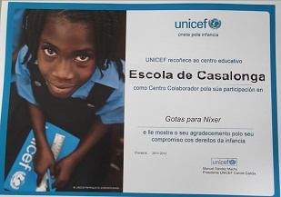 CASALONGA ES UN CENTRO COLABORADOR UNICEF