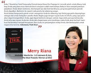 Testimoni Merry Riana