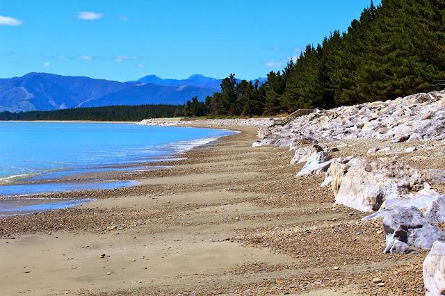 ruby bay abel tasman beach new zealand