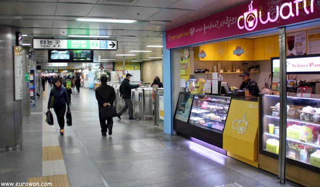 Estación Euljiro 1ga del metro de Seúl