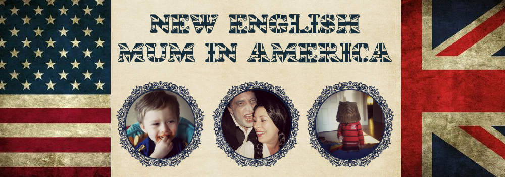 New English Mum in America