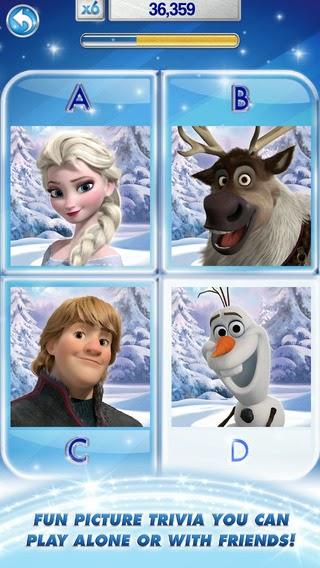 Disney trivia app