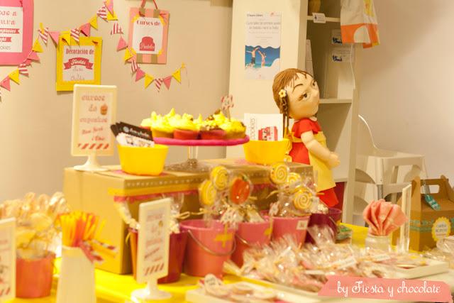 mesa de dulces Fiesta y chocolate