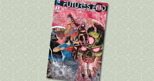 Futures End 5 Panini Cover
