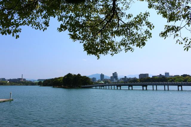 Keindahan Wisata Alam Taman Ohori Jepang