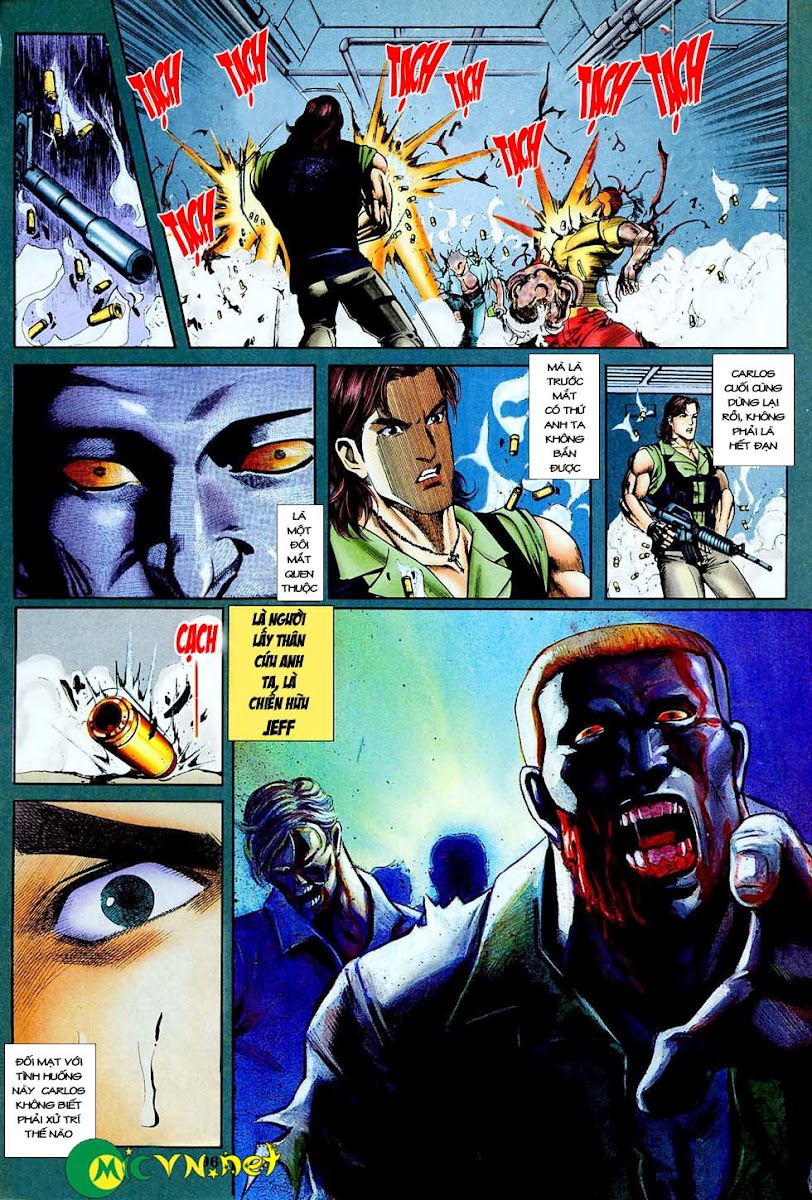 Resident Evil 3 chap 4 - Trang 17
