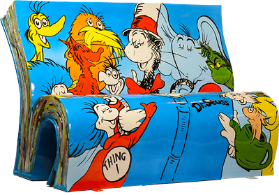 Book Bench - Dr Seuss: Author: Dr Theodor Seuss Geisel