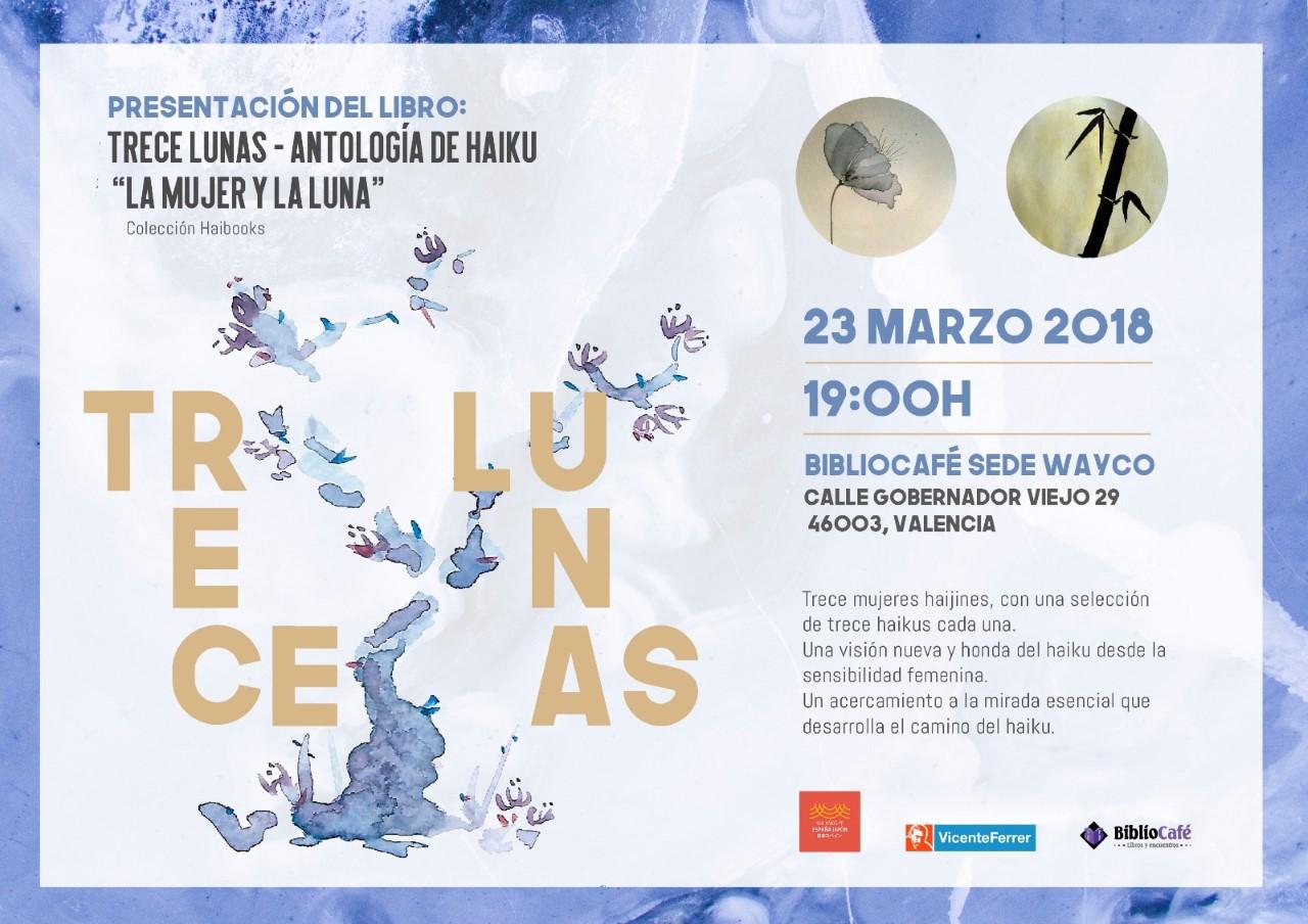 13 Lunas: Presentación en Valencia