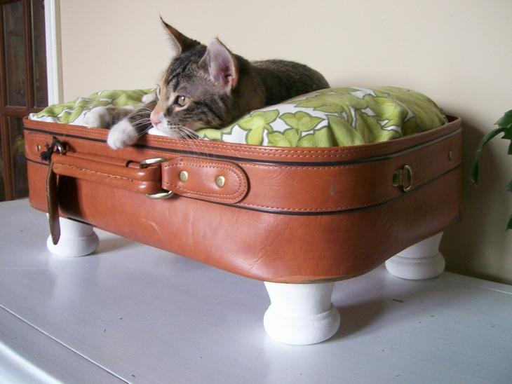 Домики лежанки для кошек своими руками фото