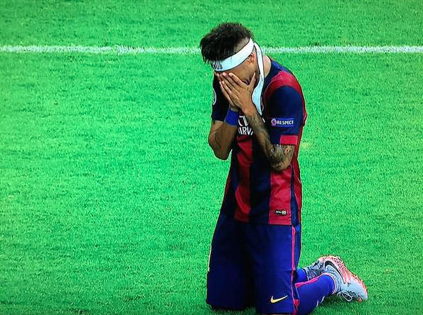 Lessons from Neymar Jnr. simple and yet very effective publicity strategy at the Champions League Final