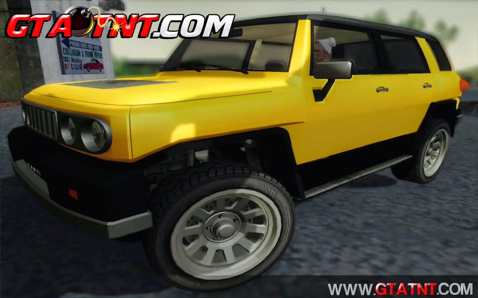 Karin BJ XL Convertido do GTA V para GTA San Andreas