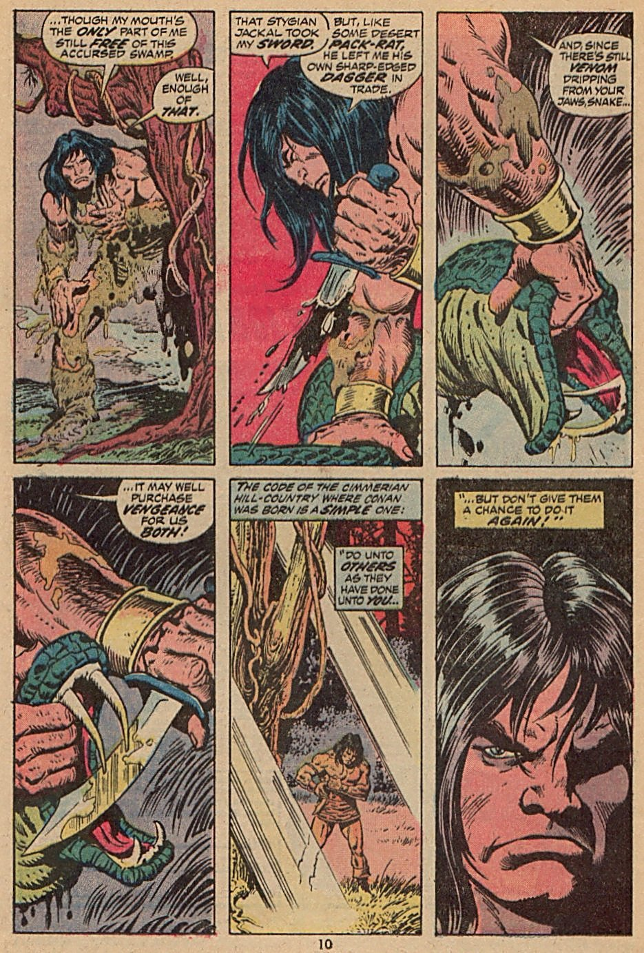 Conan the Barbarian (1970) Issue #28 #40 - English 8