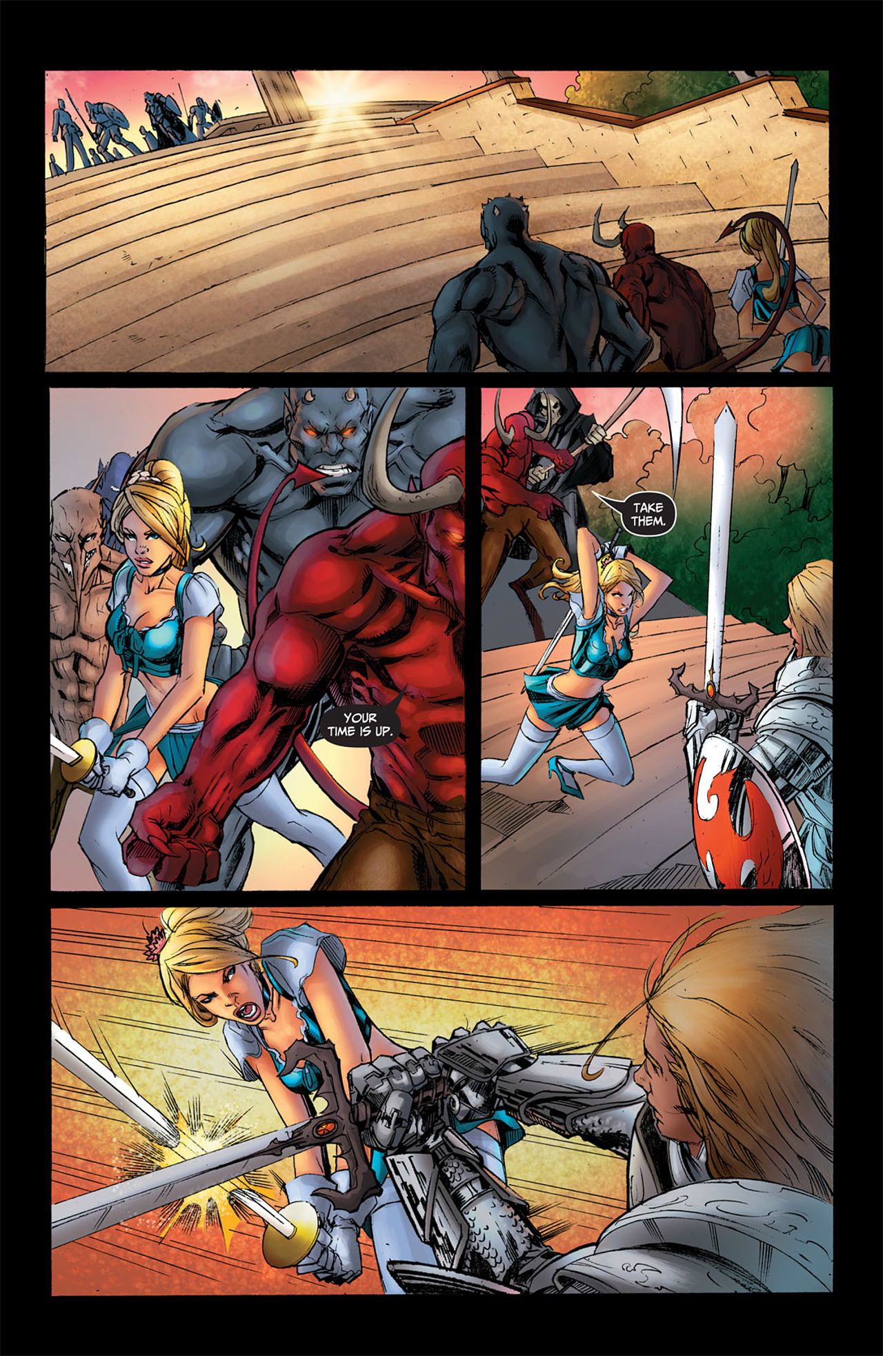 Grimm Fairy Tales (2005) Issue #50 #53 - English 26
