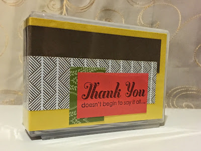 Park Lane Envelope Punch Board Note Card Set MidnightCrafting
