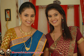 Diptii Ketkar and pradnya jadhav mala sasu havi actress