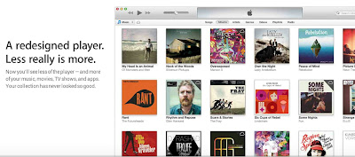 Apple iTunes 11 promo