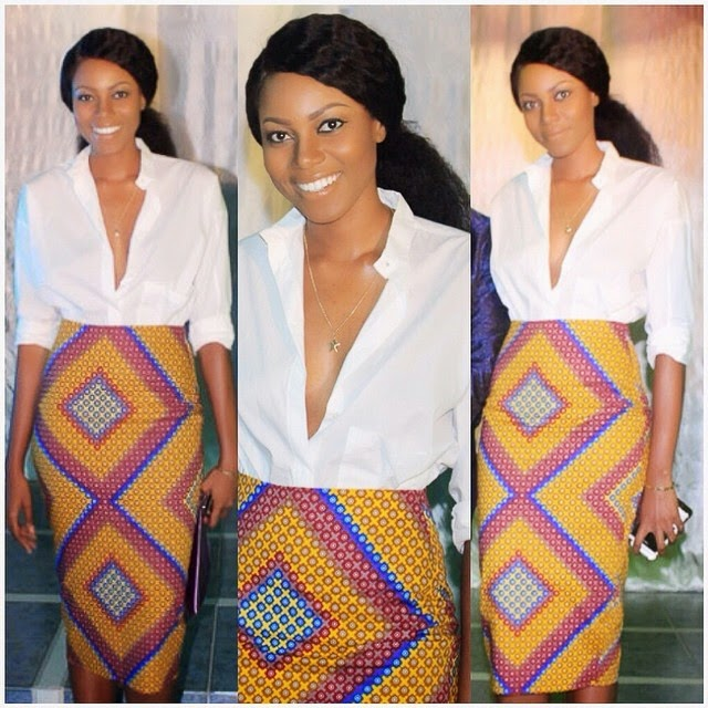 Yvonne Nelson's Outfit to Chaseforever 's album launch