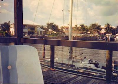 Boat at Oma's