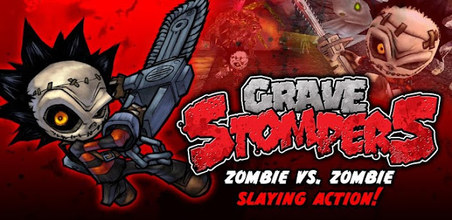 GraveStompers Zombie vs Zombie v1.14 Apk Mod [Unlimited Bones & Skulls + Ghostface desbloqueado]