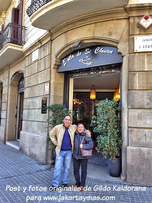 La olla de Si Chuan restaurante chino en Barcelona