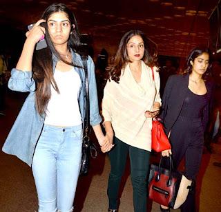 Khushi Kapoor   Daughter of Shri Devi (3).jpg