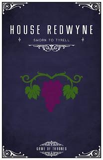 emblema casa Redwayne - Juego de Tronos en los siete reinos