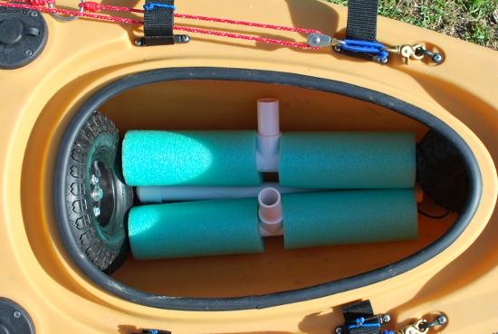 noodle cart Cart DIY  Fishing:    Instructions Build Kayak Pics Kayak Bulletproof