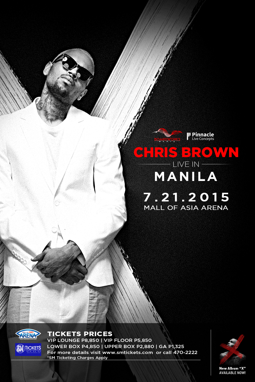 Justice Live in Manila Chris Brown Live in Manila