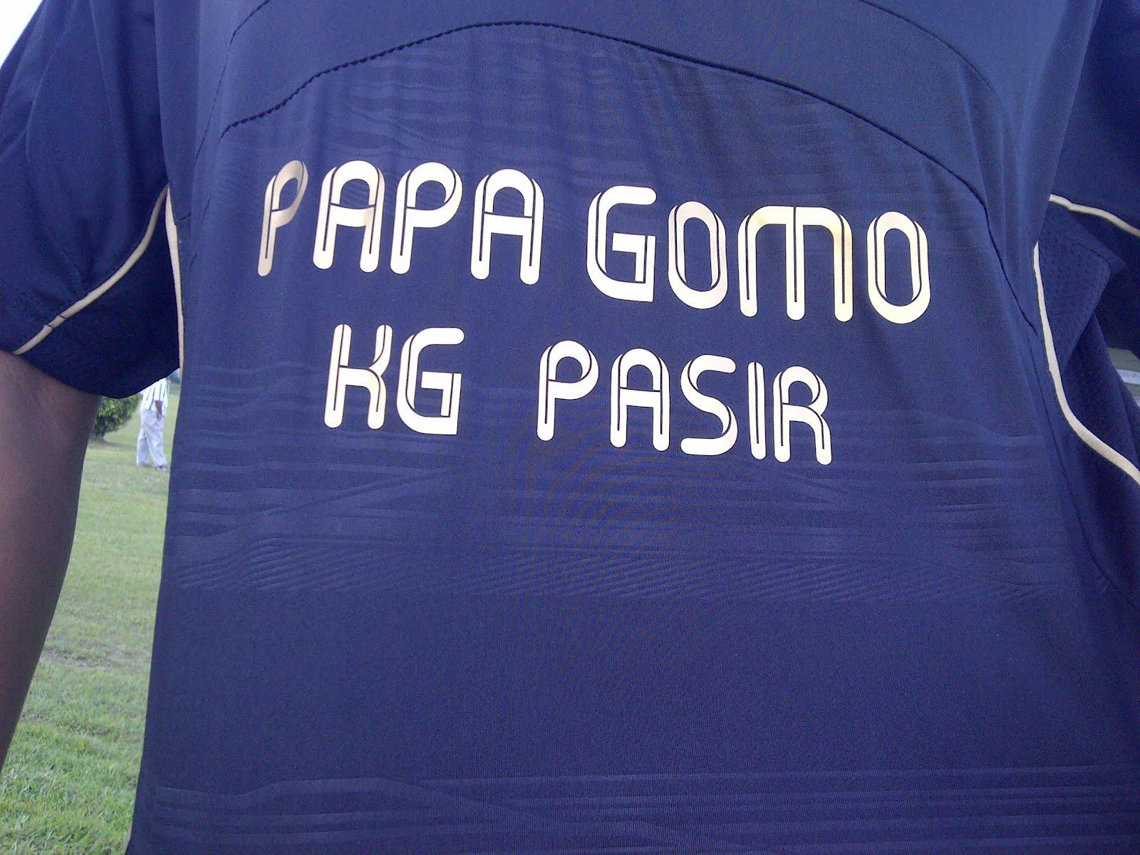 Walaupun Papa Gomo bukan anak jati Johor tetapi membesar di Johor