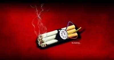 Foto Gambar Larangan Merokok Paling Sadis Info Menarik