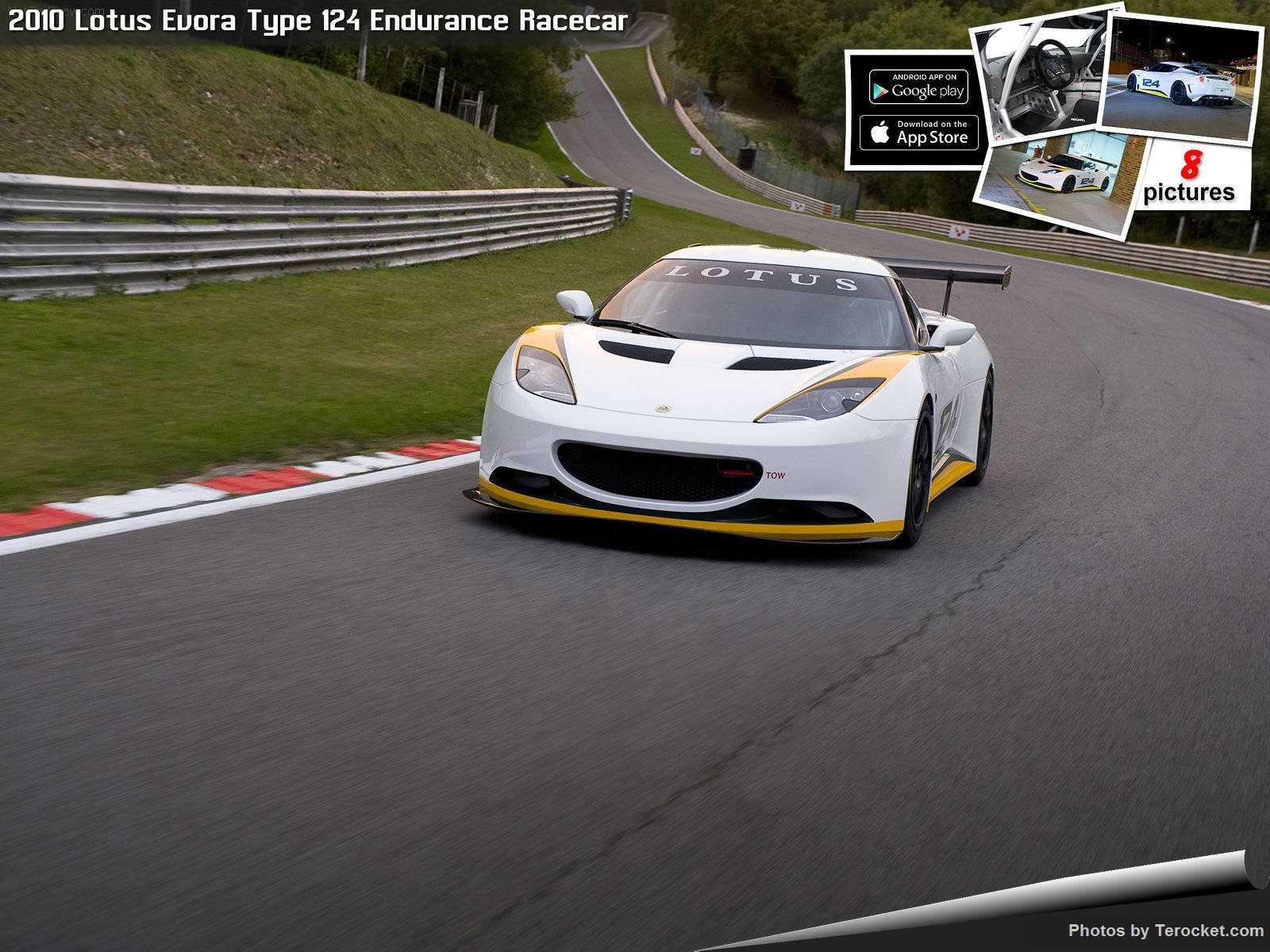 Hình ảnh siêu xe Lotus Evora Type 124 Endurance Racecar 2010 & nội ngoại thất