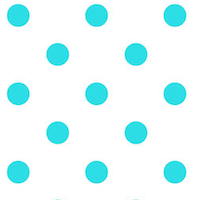 printable blue polka dot pattern paper