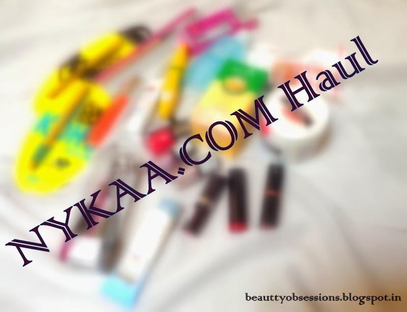 My Nykaa.Com Haul....