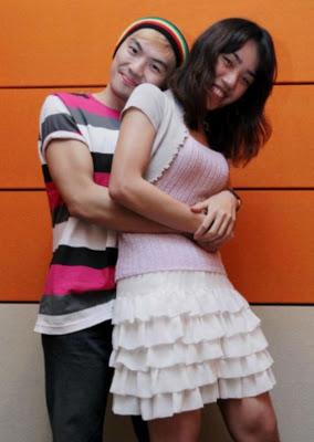 Gambar pasangan seks Alvin dan Vivian