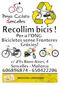 La Penya col·labora amb Bicicletes Sense Fronteres