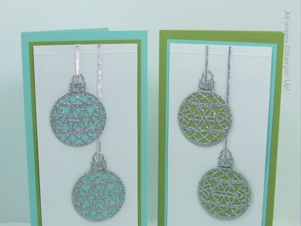 Day 1 -  Embellished Ornaments Series - Box of Cards, Gift Cards & Tags