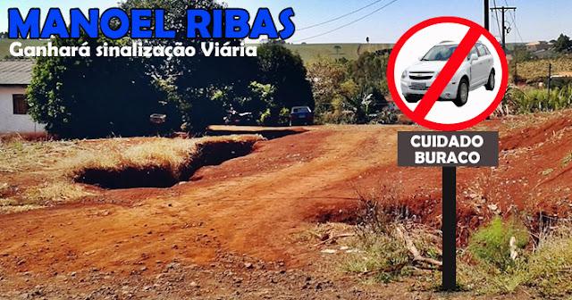 Manoel Ribas: Município investirá em sinalização viária