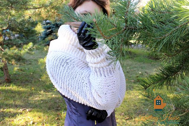 шарф, рукава длинные, шраг, болеро, вязаный шарф, вязаные рукава длинные, вязаное болеро спицами