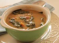 Sopa de Feijão com Folhas de Nabo (vegana)