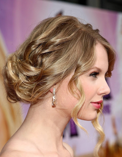 taylor swift beautiful prom hairstyles