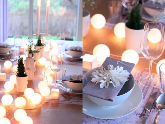 Mar vi blog ideas last minute para decorar la mesa en navidad - Decorar la mesa en navidad ...
