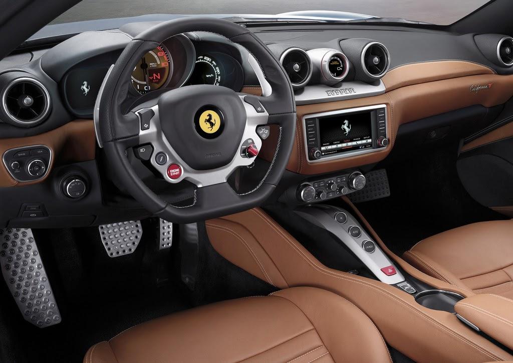 2014 Ferrari California T  interior
