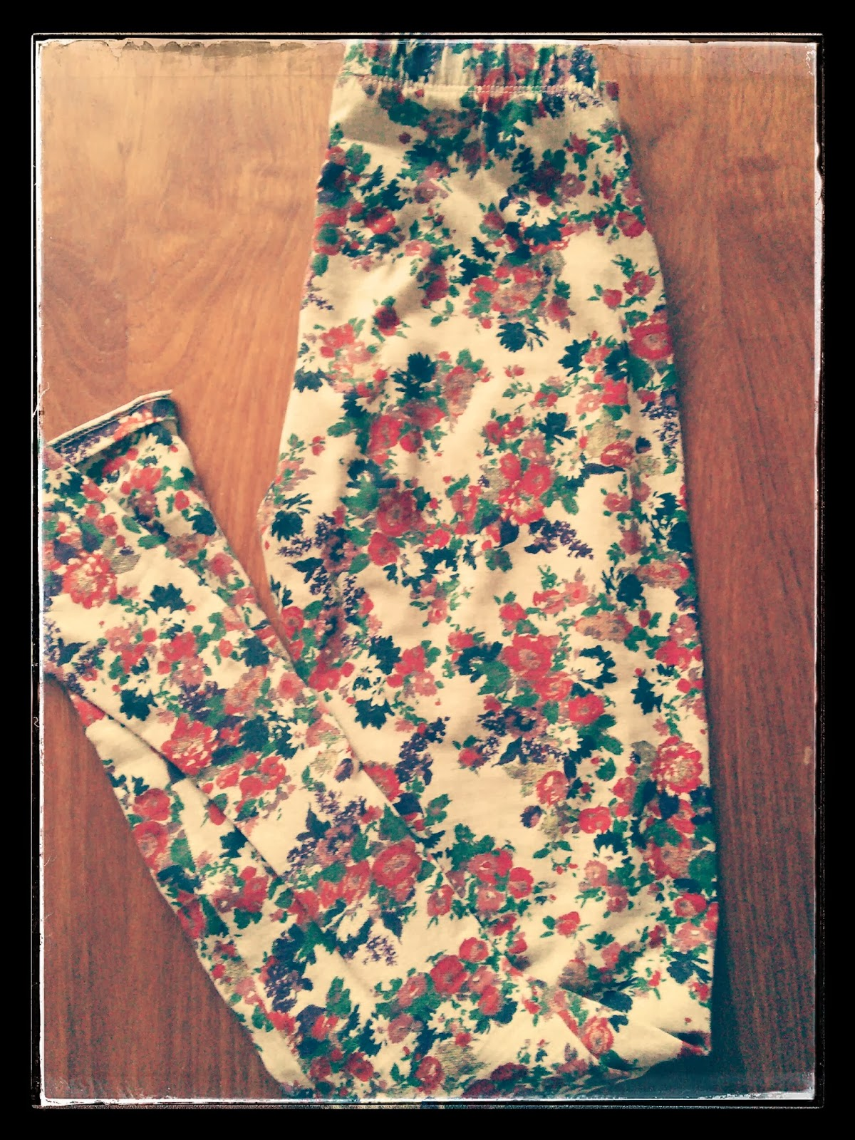 Just in Style flower print leggings from Pull & Bear